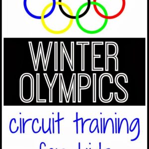 Toddler Approved Winter Olympics Circuit