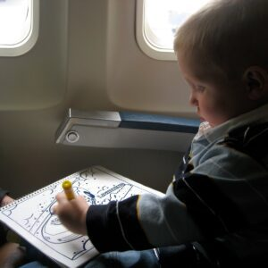 Airplane Traveling with Toddlers
