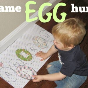 Name Egg Hunt