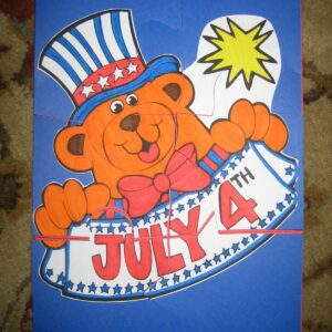 Mom Project: 4th of July Puzzle