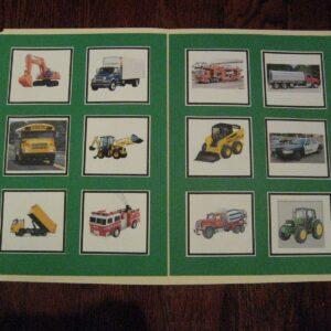Mom Project: Big Movers Matching File Folder