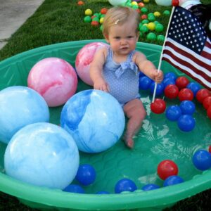 Little Toddlers Guest Post: Patriotic Colors