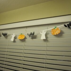 Halloween Garland Patterning Fun