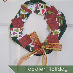Simple Holiday Wreath Collage