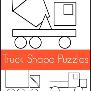 Mom Project: Truck Shape Pattern Puzzles