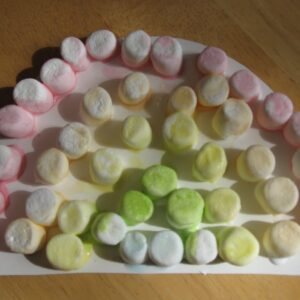 Sweet Mini Marshmallow Rainbow