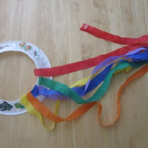 Paper Plate Rainbow Shakers