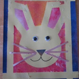 Naptime Fun: Bunny Relief Painting