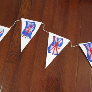 Union Jack Bunting Stamping!
