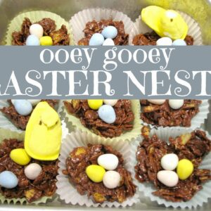 Ooey Gooey Easter Nests