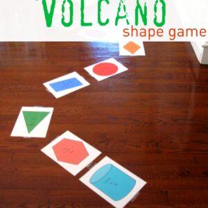 Escape the Volcano Shape Game