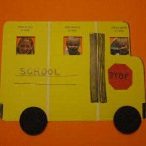 Paint Chip School Bus