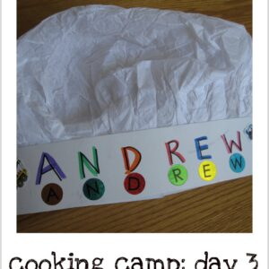 Camp Mom: Little Chef Camp