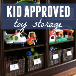 Kid-Approved Toy Storage