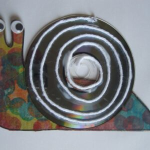 Reused CD Snail