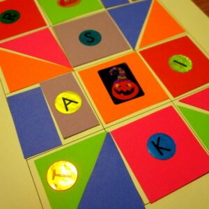 Read for the Record: Shape Quilt