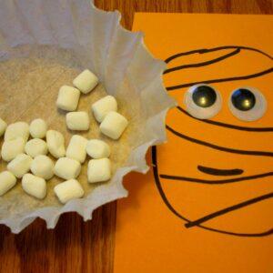 Silly Halloween Marshmallow Designs