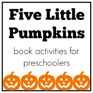 Mommy and Me Book Club: Five Little Pumpkins