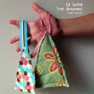 Kid Quilted Tree Ornaments