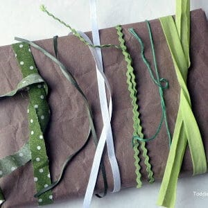 A Brown Paper Package Tied Up With Strings
