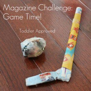 Magazine Challenge: Game Time!