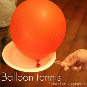 Active Indoors- Balloon Tennis