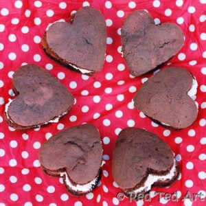 100 Acts of Kindness and Valentine's Whoopie Pie Love {via Red Ted Art}