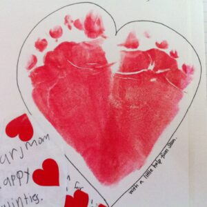 From the Bottom of My Feet, er, Heart {via Mikilani}