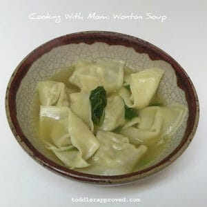 Cooking With Mom: Wonton Soup