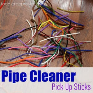 Pipe Cleaner Pick Up Sticks