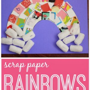 Scrap Paper Rainbows