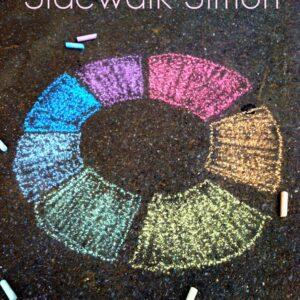 Sidewalk Simon: Colors of The Rainbow Learning Activity