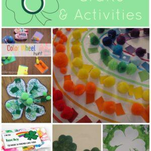 St. Patrick's Day Craft & Activities Round Up