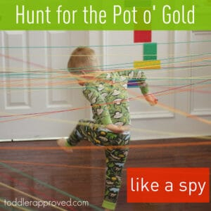 Hunt for the Pot o' Gold… like a spy