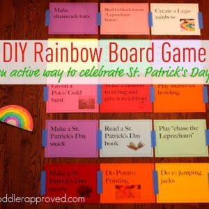 DIY Rainbow Board Game