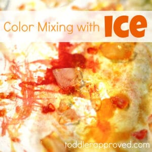 Color Mixing with Ice