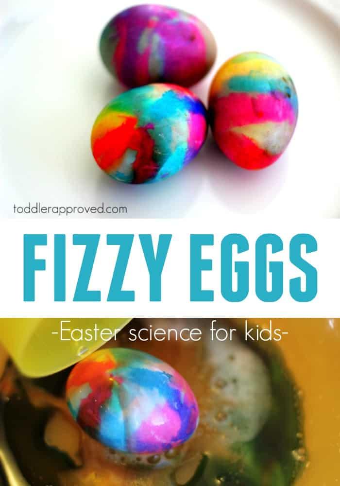 fizzy volcano eggs