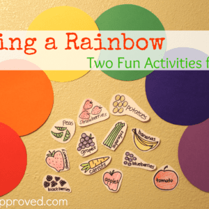 Eating a Rainbow: Two Fun Activities for Kids