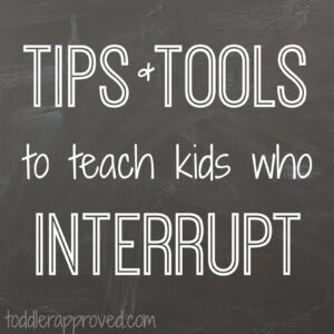 My Mouth is a Volcano… and Other Tips and Tools to Teach Kids Who Interrupt