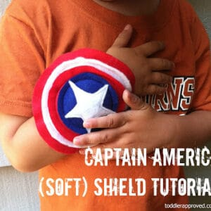 Captain America (Soft) Shield Tutorial