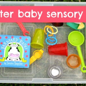 Water Baby Sensory Bin {via The Iowa Farmer's Wife}