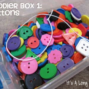 Toddler Boxes {via It's A Long Story}