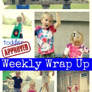 Cool Fourth of July Crafts + Weekly Wrap Up {Kid's Co-op}