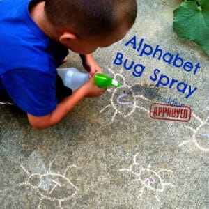 Alphabet Bug Spray