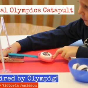 Olympig! Catapult over at Makes & Takes
