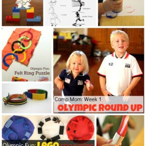Camp Mom: Olympic Round Up Week 1 {Kid's Co-op}