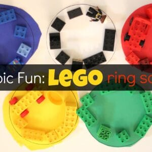 Olympic Fun: LEGO Ring Sorting