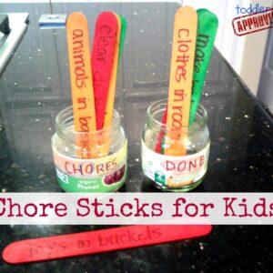 Bedtime Battles and Chore Sticks for Kids {Kid's Co-op}