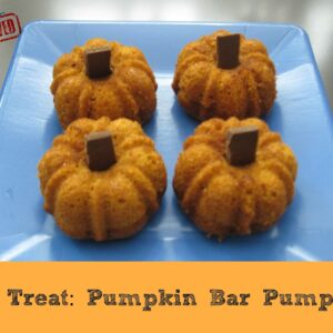 Fall Treat: Pumpkin Bar Pumpkins {Kid's Co-op}