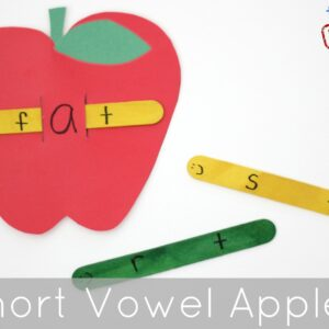 Alphabet and Vowel Apples – Back to School Basics